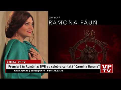 """Premieră în România: DVD cu celebra cantată """"Carmina Burana"""""""
