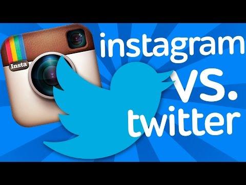 Twitter или Instagram? видео