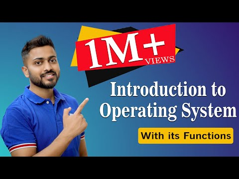 Download L-1.1: Introduction to Operating System and its Functions with English Subtitles Mp4 HD Video and MP3