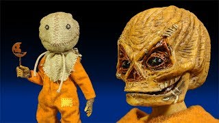 "NECA Trick 'r Treat Sam 8"" Retro Clothed Action Figure Review"