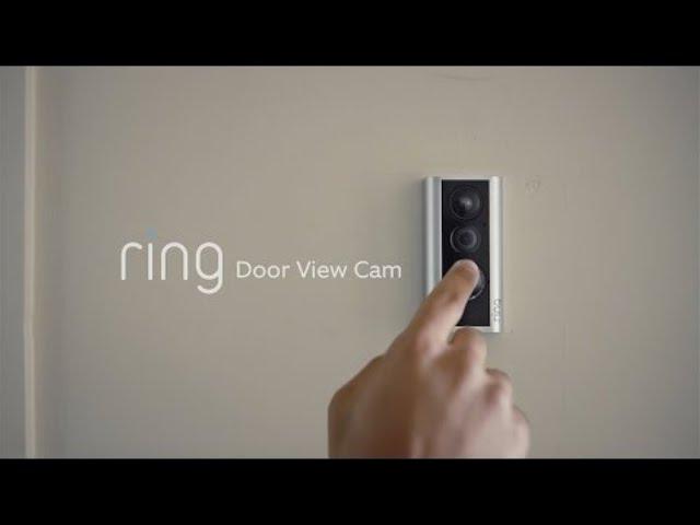 Ring unveils Door View Cam, smart lights, and Alarm sensors