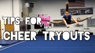 How to make your Cheer Team+ Tryout Tips
