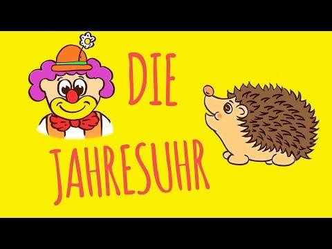 Rolf Zuckowski - Die Jahresuhr (Lyric Video)