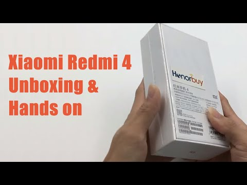 Xiaomi Redmi 4 Unboxing & Hands on