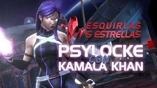 Esquirlas de 5 Estrellas con Psylocke y Kamala | Marvel Batalla de Superhéroes