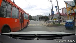 Резвый смоленский троллейбус