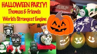Halloween Party 2 - Thomas & Friends Trackmaster World's Strongest Engine