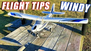 How to Fly an RC Airplane - Wind Flying Tips, Takeoff, Tricks, and Landing - TheRcSaylors