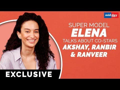 Exclusive | Super model Elena Fernandes tells what's the best thing about Akshay, Ranbir and Ranveer