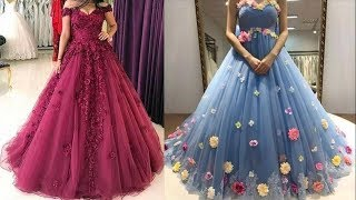 Party Wear Dresses Design Collection For Women || Long Gown Dress Picture 2018 || Prom Dress Images
