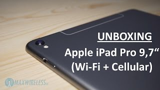 Unboxing und erster Eindruck: iPad Pro 9,7 Wi-Fi + Cellular