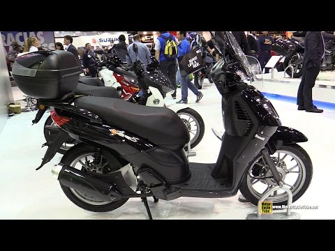 2015 Benelli Nero Caffe 150 Scooter - Walkaround - 2014 EICMA Milan Motorcycle Exhibition