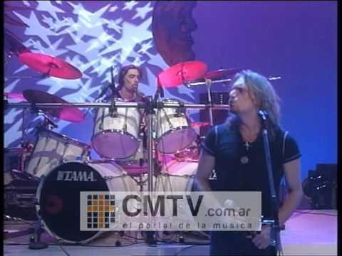 Rata Blanca video Pastel de rocas - CM Vivo 1996