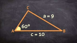 Law Of Sines Ambiguous Case Two Solutions