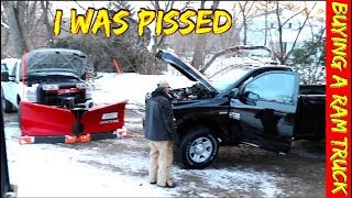 Ram Trucks made me mad - It was the Worst Truck Buying experience I've had from a car dealer...until