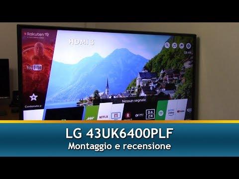 LG 43UK6400PLF SMART TV | Unboxing, montaggio e recensione