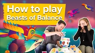 Let's play Beasts of Balance - How to play Beasts of Balance