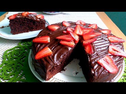 QUICK chocolate cake   БЫСТРЫЙ ШОКОЛАДНЫЙ ПИРОГ / English