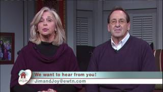 "My recent appearance on EWTN's ""At Home with Jim and Joy"", in which we discuss my work"