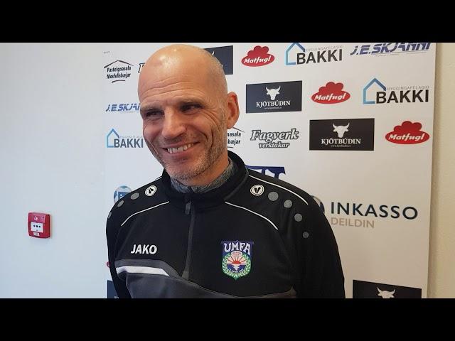 Arnar Halls: Mér fannst þetta jafn leikur