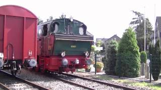 preview picture of video 'Historischer Zug Schluff in Krefeld am 2. September 2012 - Historic Train [HD 720p]'