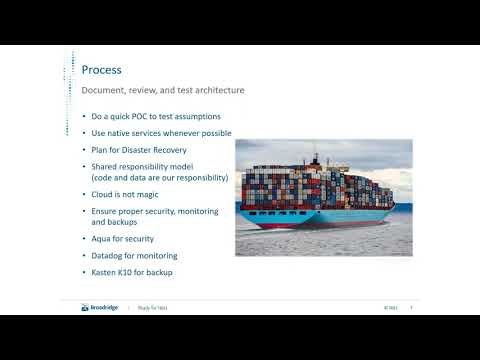 CNCF On-demand Webinar: Journey from on prem to the cloud with Kubernetes