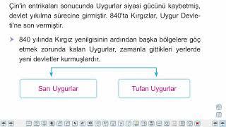 Eğitim Vadisi 9.Sınıf Tarih 11.Föy İlk ve Ortaçağlarda Türk Dünyası Konu Anlatım Videoları
