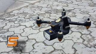 StrobiusDRONE | Hubsan H501S как дрон-осветитель. Краш, фотовспышка - будем жить!!..))