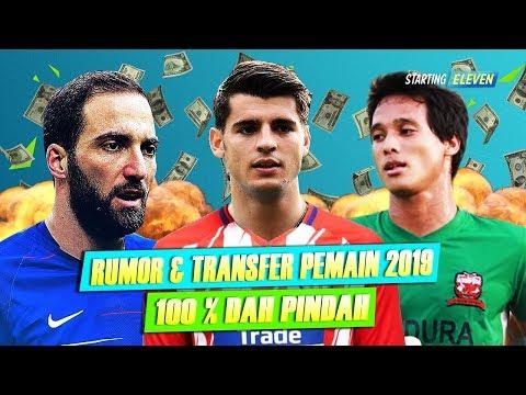 RESMI, Inilah Daftar Bursa Transfer Pemain Musim Dingin Januari 2018/2019 - Part II