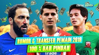 Download Video RESMI, Inilah Daftar Bursa Transfer Pemain Musim Dingin Januari 2018/2019 - Part II MP3 3GP MP4