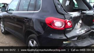 Used 2010 Volkswagen Tiguan Parts - Quality German Auto Recycling