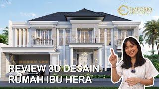 Video Mrs. Hera Classic House 2 Floors Design - Jakarta Selatan