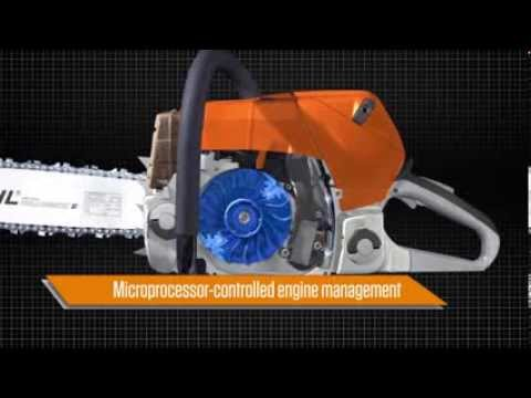 Stihl MS 201 T C-M 12 in. in Ruckersville, Virginia - Video 1