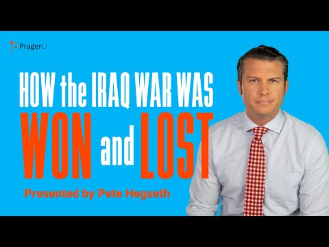 How Iraq Was Won and Lost