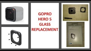 GoPro Hero 5 Session - How to Repair a Lens