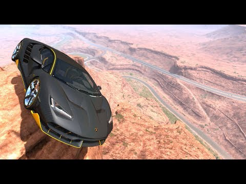 Cliffs Of Death #11 - BeamNG Drive