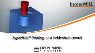 CNC Machining: Probing cycles | HEIDENHAIN | hyperMILL