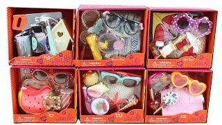 Our Generation Small Accessory Packs Opening 18 Inch Doll Playset Unboxing Toy Review