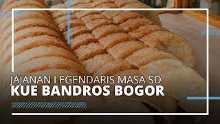 VIDEO TRAVEL | Jajanan Legendaris Semasa SD, Kue Bandros Khas Kota Bogor
