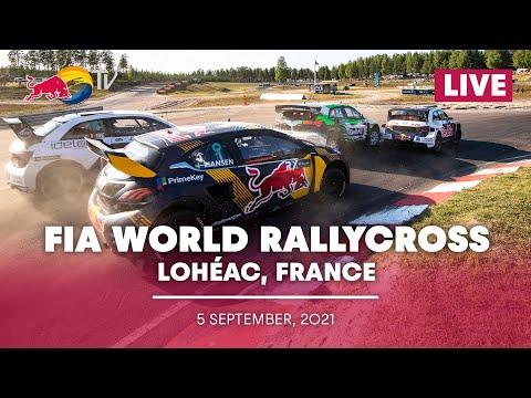 世界ラリークロス 第5戦フランス( エアロック)2021年 RXクラスのプレショー動画