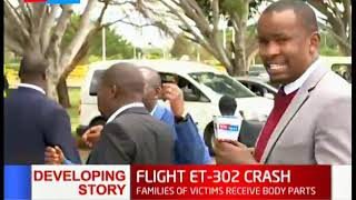 FLIGHT ET-302 Crash: A representative of the families involved speaks on the compensation process