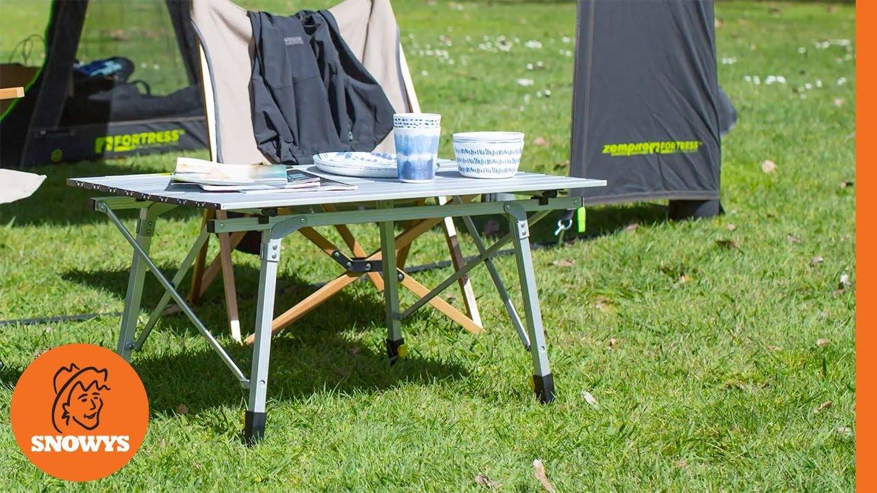 Slatpac Std Camp Table