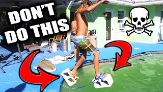 TRY NOT TO DROWN IMPOSSIBLE CHALLENGE!!! (3 Minutes Held Underwater) | JOOGSQUAD PPJT