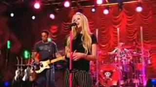 Avril Lavigne I'm With You Live [AOL Sessions]