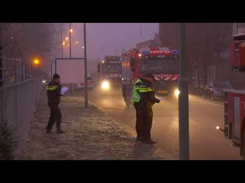 Grote brand Mission Foods Roermond 4-12-2019
