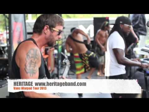 Vans Warped Tour 2013 HERITAGE BAND
