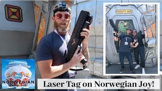 Norwegian Joy: Laser Tag & District Brewhouse - US Inaugural Cruise 2019
