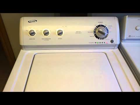 Crosley Washer Washing Machine You