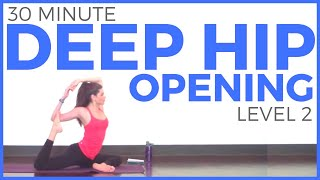 30 Minute Deep Hip Opening Yoga Practice