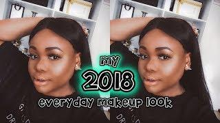 MY 2018 UPDATED EVERYDAY MAKEUP ROUTINE | Cynthia Gwebu